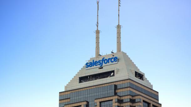 Salesforce übertrifft Erwartungen