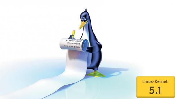 Linux-Kernel 5.1 mit neuen Speicher- und Diagnosetechniken
