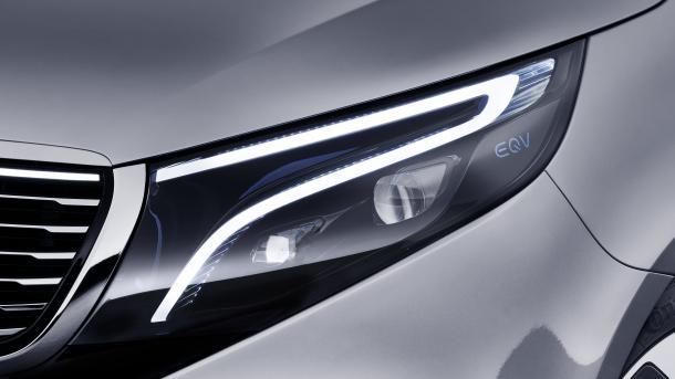 Elektrische Großraumlimousine: Mercedes-Benz Concept EQV reicht 400 km weit