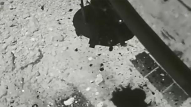 Sonde Hayabusa2: Video vom Touchdown auf dem Asteroiden Ryugu