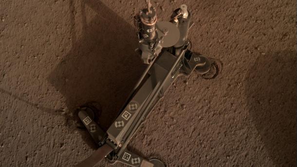 Mars-Sonde Insight: Bohrinstrument HP³ stößt auf Widerstand – vorerst Pause
