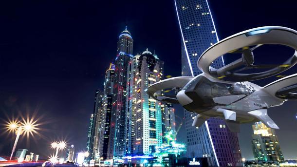 In den Megastädten soll der Nahverkehr künftig in die Luft gehen