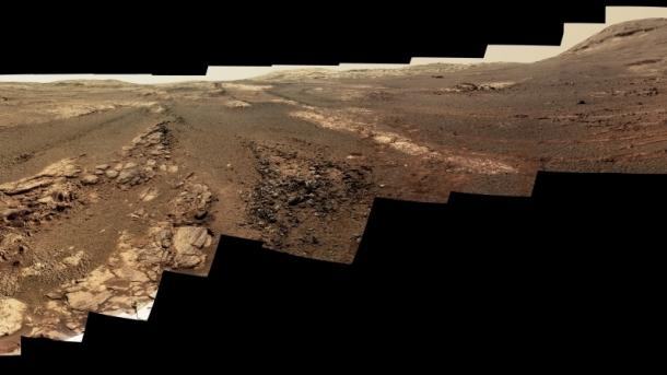 Mars-Rover Opportunity: Ein letztes Panorama und letzte Fotos