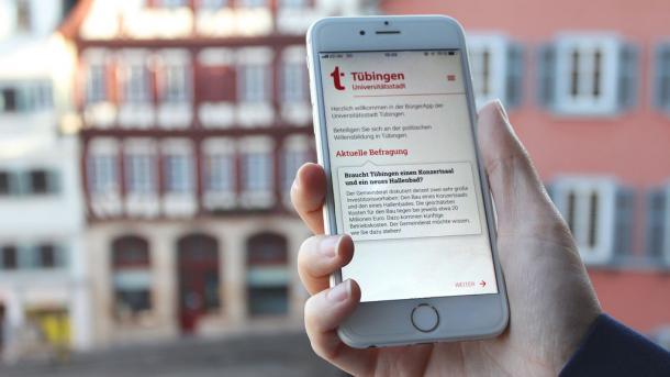 """Abstimmung mit """"BürgerApp"""": Der Bürgerwille kommt per Smartphone"""