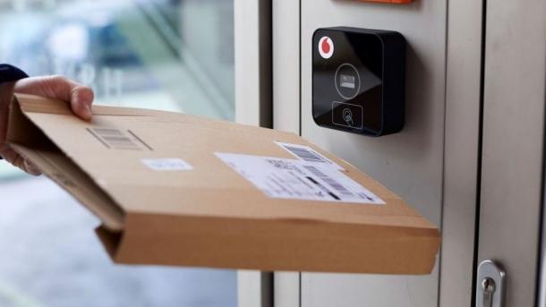 Vodafone stellt smarten Haustüröffner für Paketboten vor