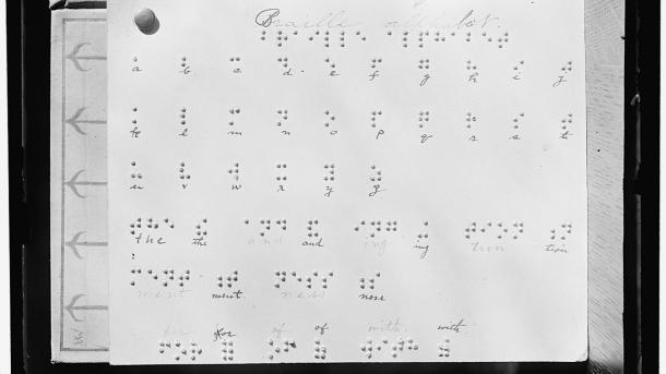 Braille-Alphabet English