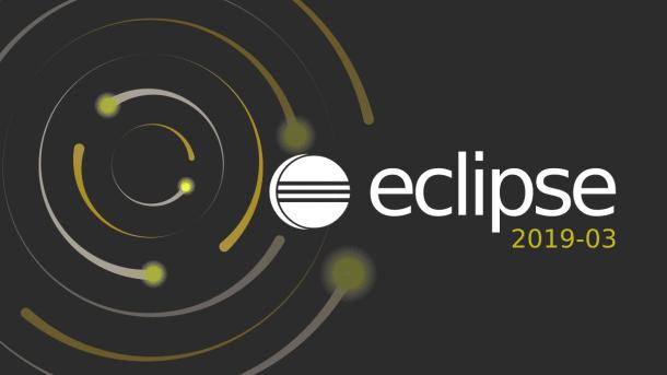 Entwicklungsumgebung Eclipse in neuer Version 2019-03