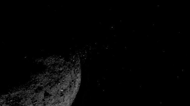 Osiris-Rex: Asteroid Bennu verliert Material