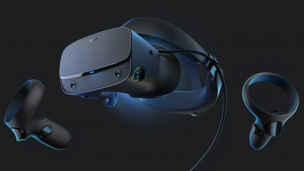 VR-Headset Oculus Rift S angekündigt: Höhere Auflösung und integriertes Tracking