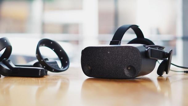 Reverb: HP zeigt VR-Headset mit hoher Auflösung