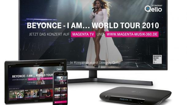 MagentaMusik 360 zeigt kostenlos Konzerte