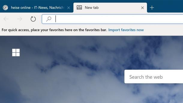 Browser-Leak: Microsoft Edge gelangt vorab ins Netz