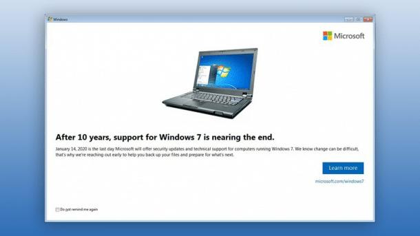 Insides zum Windows 7 Benachrichtigungsupdate KB4493132