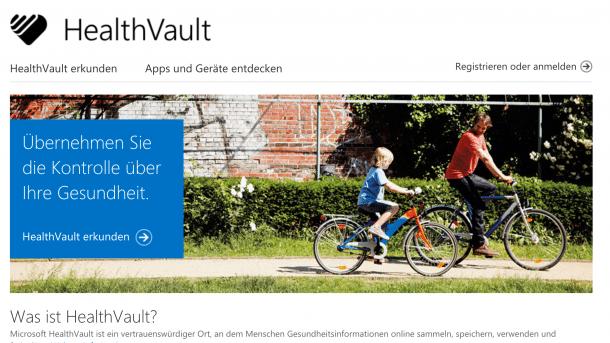 Elektronische Patientenakte: Microsoft stellt Online-Dienst HealthVault ein
