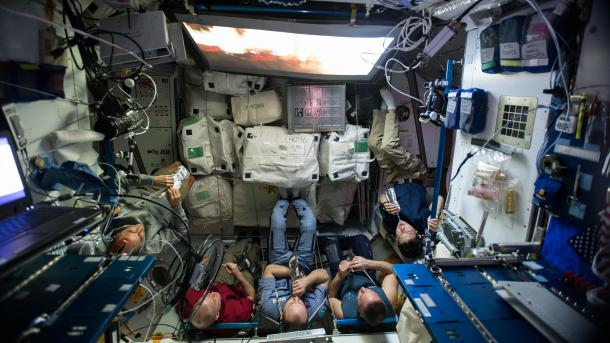 Alles andere als keimfrei: Mikroben der Raumstation ISS aufgelistet