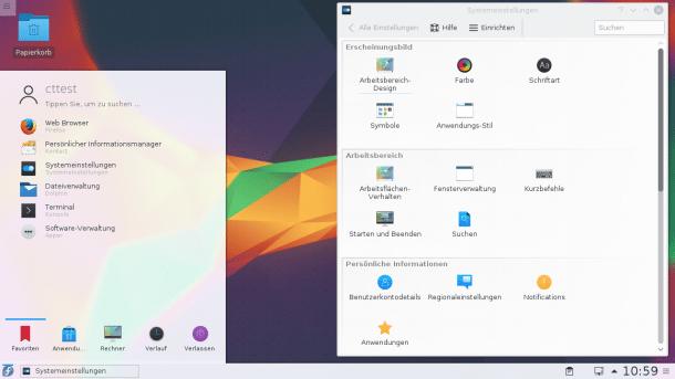KDE Plasma 5 5: Feinschliff am Design und besserer Wayland