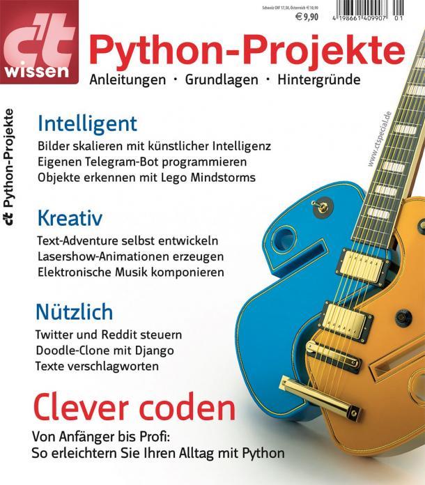 c\'t wissen Python-Projekte jetzt online bestellbar   heise online