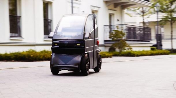 Elektroauto iEV X lässt sich ausziehen | heise online