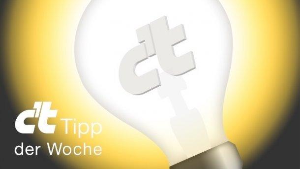 c't-Tipp der Woche: Mythos Stromsparen durch Prozessor