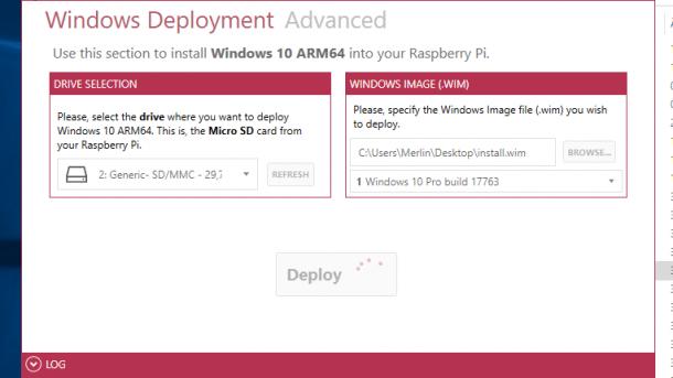 Windows 10 on ARM auf dem Raspberry Pi 3B+ | heise online