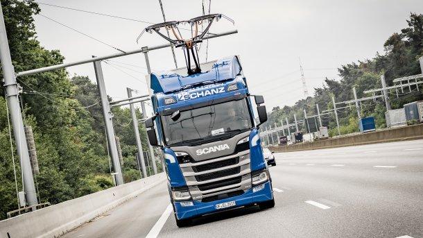 Elektro-Highway: Fehlende LKW verzögern Feldversuch in vollem Umfang