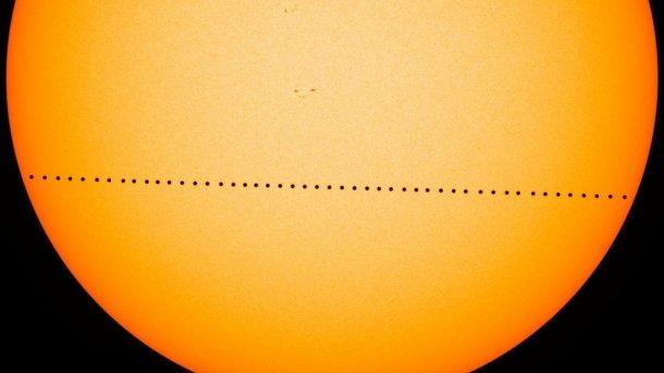 Merkur tritt an zur «Mini-Sonnenfinsternis»