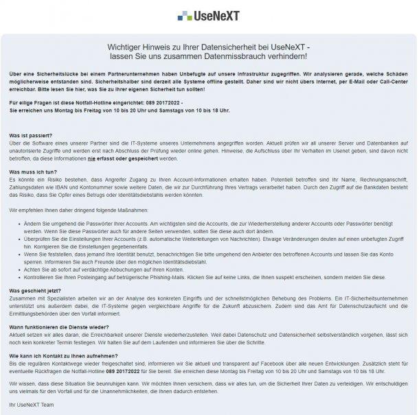 UseNeXT-Hack