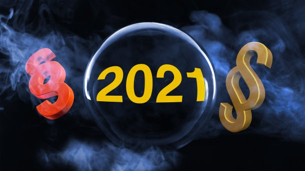 Auf ein Neues: Was im IT-Recht 2021 auf uns zukommt