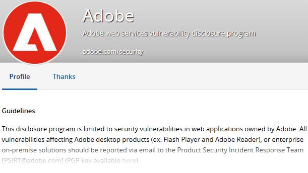 Adobe drückt sich vor Finderlohn für gemeldete Lücken
