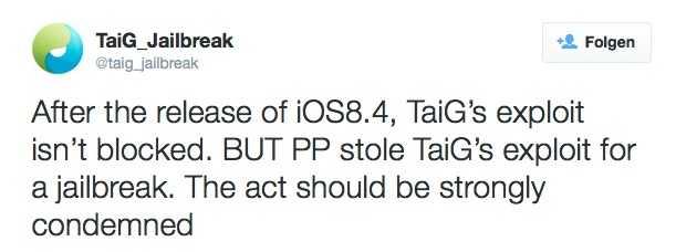 Jailbreak für iOS 8.4 verfügbar