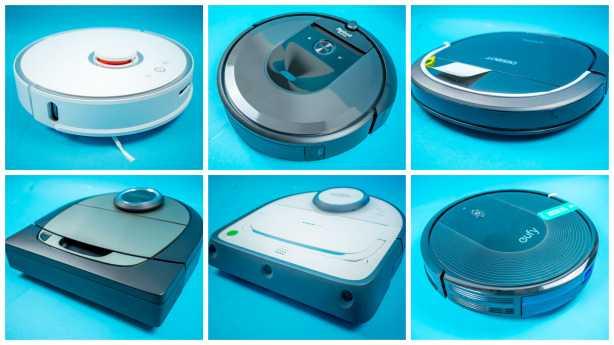 Sechs Staubsauger-Roboter im Vergleichstest