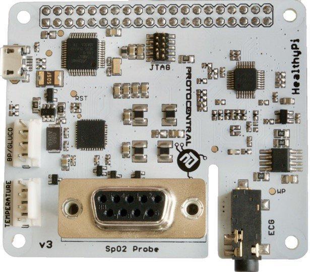 Ein weißes Board von oben