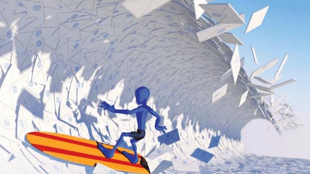 c't 23: Wege aus dem E-Mail-Chaos