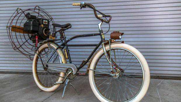 Fahrrad mit Ventilatorenantrieb