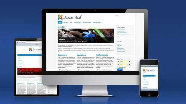 Joomla Content Management System CMS