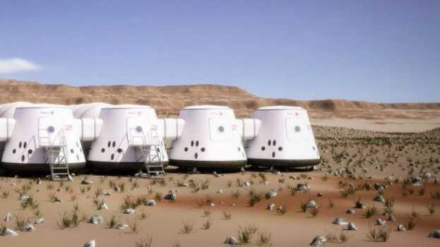 Test-Außenposten von Mars One auf der Erde
