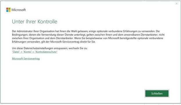 Screenshot Microsoft