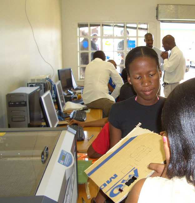 Fab Lab Shoshanguve, Südafrika