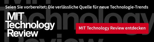 Mehr von MIT Technology Review