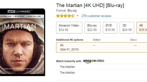 CES 2016: Filme auf Ultra HD Blu-ray kosten 40 US-Dollar