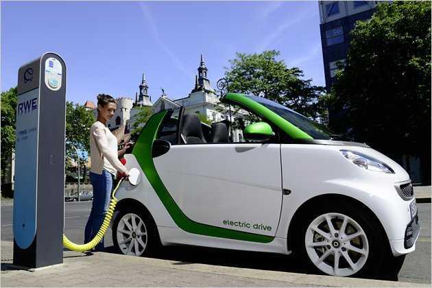 Elektroautos, alternative Antriebe, SMART, Daimler