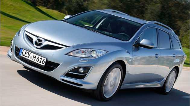 Mazda hat den 6 dezent überarbeitet.