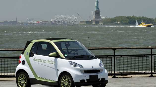 In den USA gehen ab Oktober 250 Smart ed in den Praxiseinsatz ...