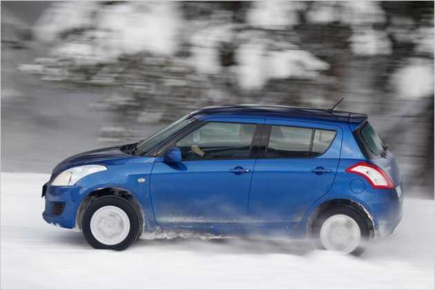 Kleiner Allradler: Unterwegs im Suzuki Swift 4x4 | heise Autos