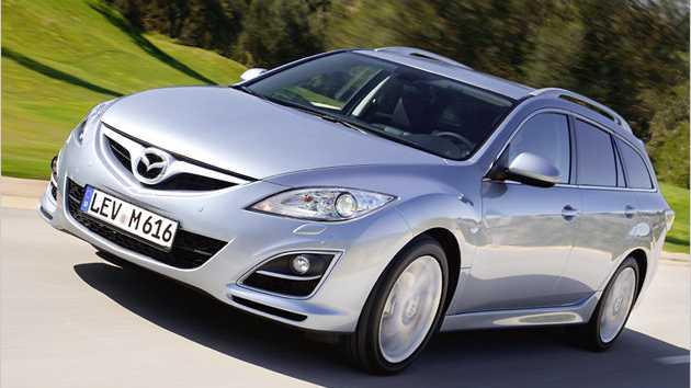 Den Mazda 6 Kombi 2.2 l MZR-CD gibt es mit 95, 120, und 132 kW.
