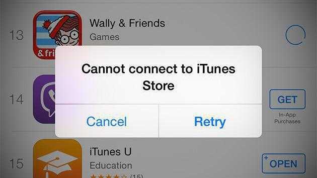 iTunes und App Store: Apple entschuldigt sich für stundenlangen Serverausfall