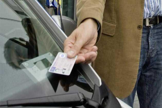 Führerschein mit RFID-Chip