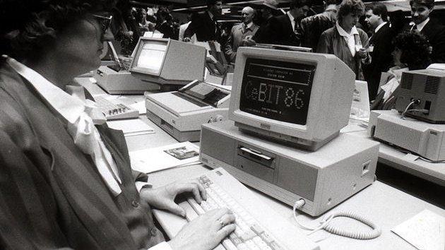 Vor 45 Jahren: Das CeBIT öffnet in Halle 1