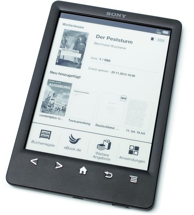 Hat der Sony Reader (hier der PRS-T3) eine Zukunft?