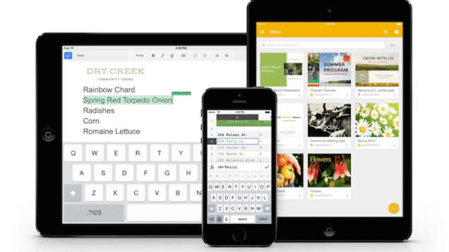 iOS: Googles Büro-Apps bekommen Touch-ID-Sicherung